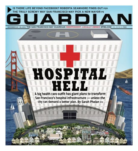 2010 The San Francisco Bay Guardian Magazine Cover
